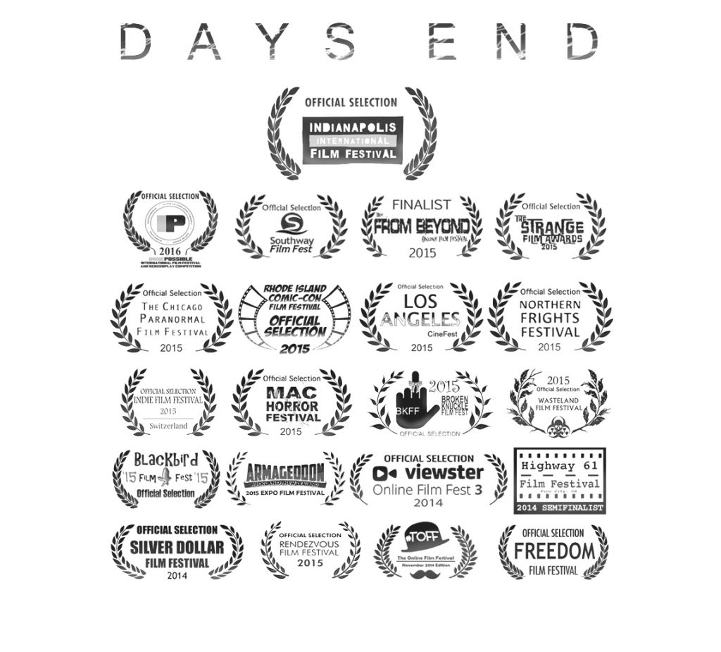 DAYS END Continues to Play at Film Festivals Around the World