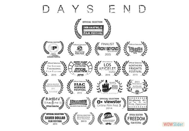 21 'Official Selections' for DAYS END