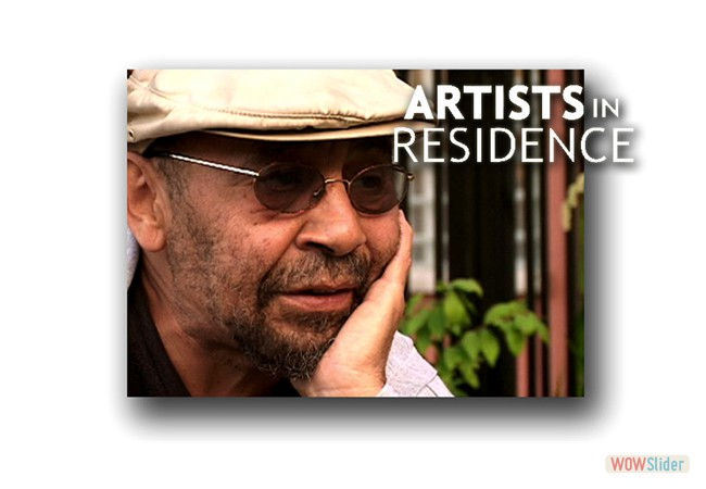 Our PBS doc ARTISTS IN RESIDENCE on VOD soon!