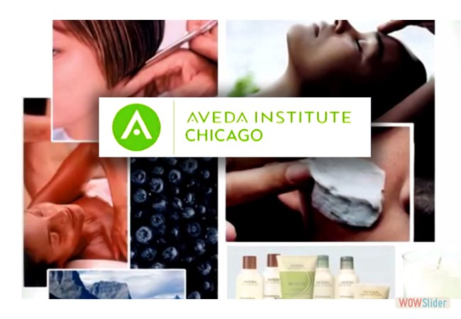 View client samples (AVEDA Institute)